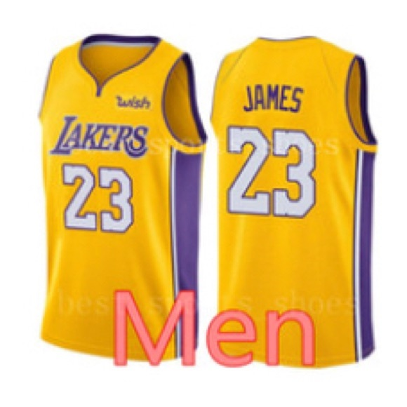 quality design 58bf0 62185 Lebron James LA Lakers Men's Large Jersey NWT